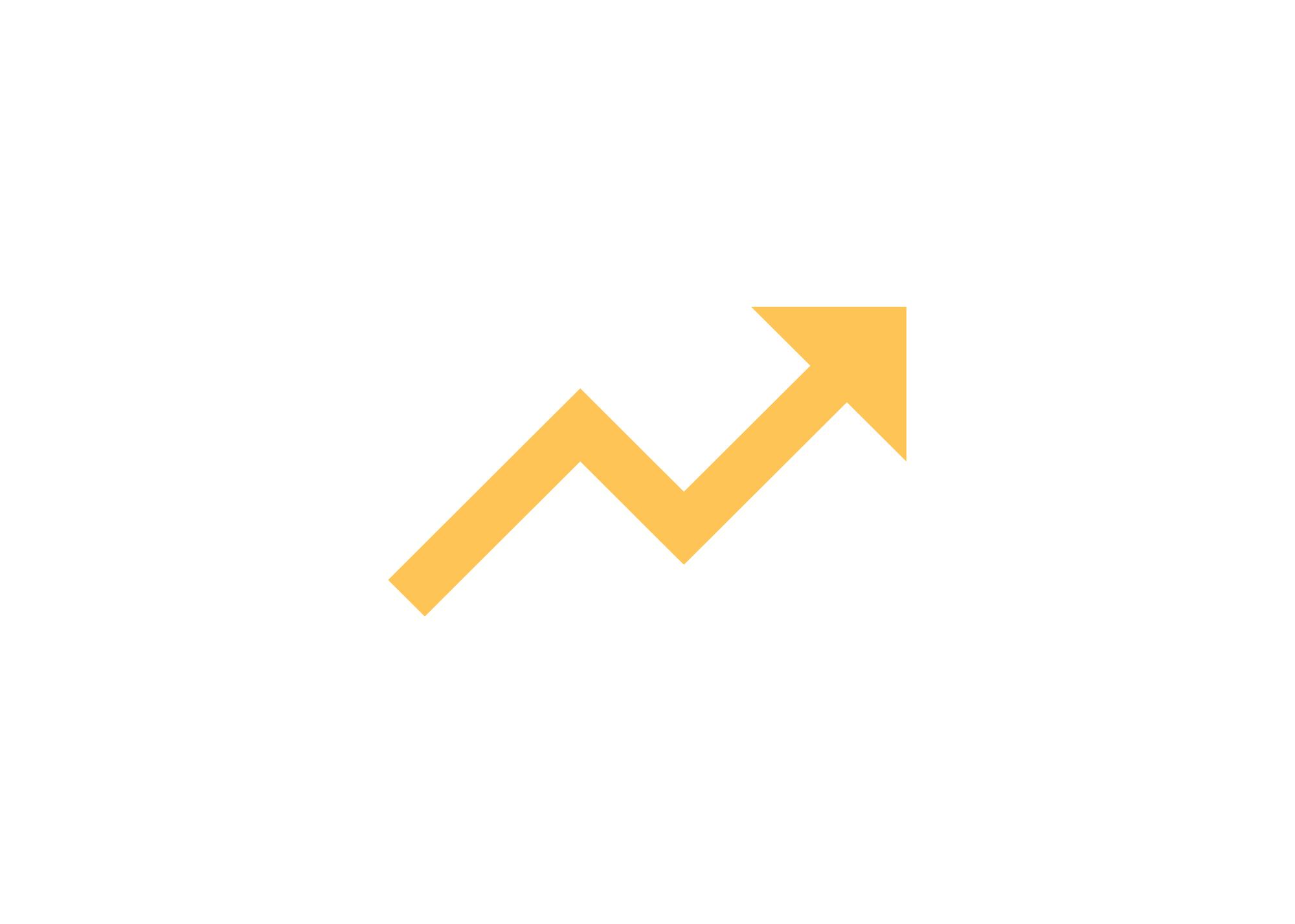 Upward pointing arrow icon