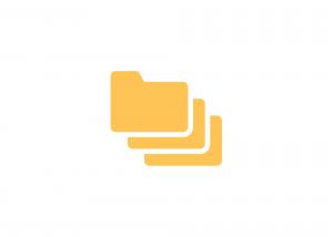Logo of file folders